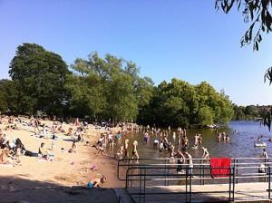 strand i stockholm